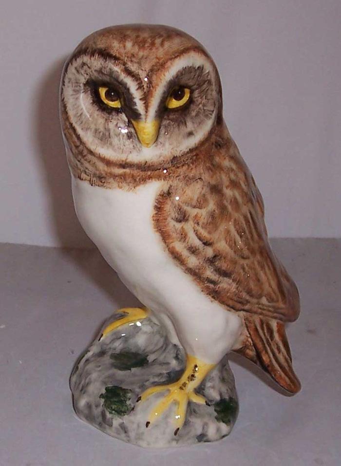 Babbacombe Pottery Barn Owl Brown | Babbacombe Pottery Cats