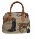Tapestry Convertible Bag - Horse Design
