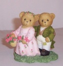 Cherished Teddies Lizzie and Darcy