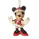Christmas Minnie Mouse Hanging Ornament A27084
