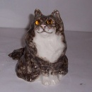 Winstanley Cat Tabby & White Persian Size 1