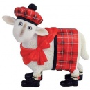 Ewe and Me Cameron Red Tartan