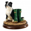 Border Fine Arts Border Collie In All Weathers A25069