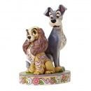 Jim Shore Opposites Attract Lady and Tramp 4046040
