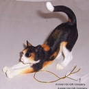 Border Fine Arts Cat Stretching Calico