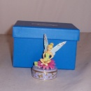 Sitting Tinkerbell Disney Trinket Box