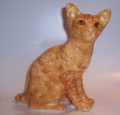Winstanley Cat Ginger Sitting Size 3