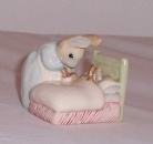 Beswick Beatrix Potter Peter in Bed