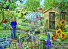 At The Allotment BIG 500 Jigsaw Puzzle
