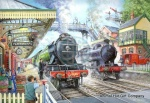 Train Now Standing 1000 Jigsaw Puzzle