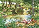 Gone Fishing BIG 500 Jigsaw Puzzle