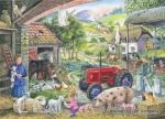 On The Farm Find the Differences 1000 Jigsaw Puzzle