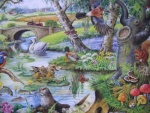 Tales of the River BIG 500 Jigsaw Puzzle