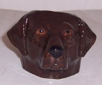 Quail Chocolate Labrador Faced Egg Cup