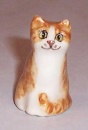 Winstanley Cat Ginger & White Sitting Size AA