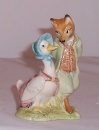 Beswick Beatrix Potter Jemima and her Ducklings